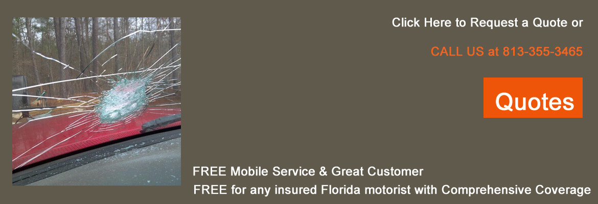 Free Quotes for Auto Glass Windshield Replacement, Tampa, FL